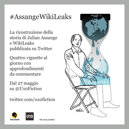 #AssangeWikiLeaks