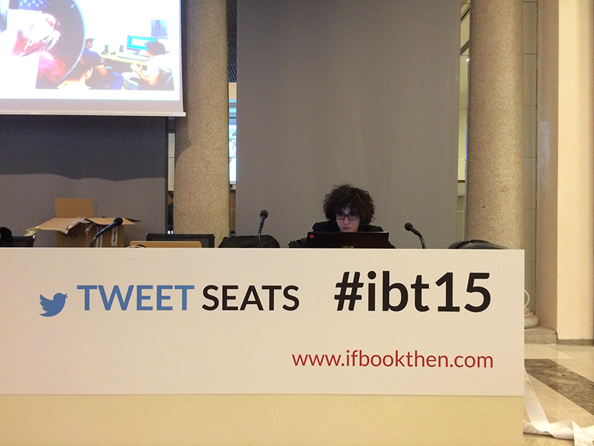 Live tweet e content curation per If Book Then 2015