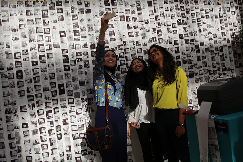 Tweetbook per Tasmeem Doha 2015 - TasmeemGroupSelfie