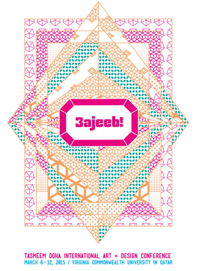 Tweetbook per Tasmeem Doha 2015 - poster